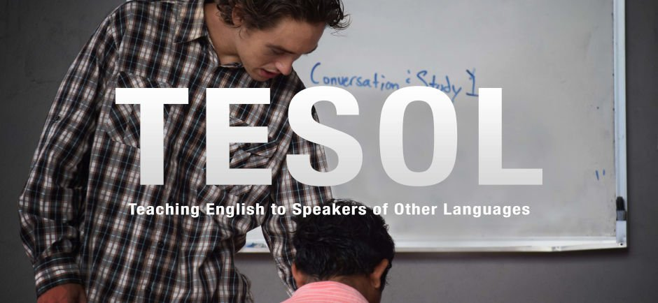 TESOL Banner Picture - Teaching English to Speakers of Other Languages