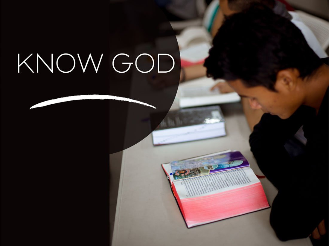 Photo of people getting to know God